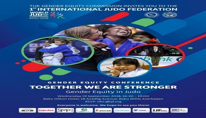 Beynəlxalq Cüdo Federasiyası gender bərabərliyi üzrə ilk konfransını Bakıda keçirəcək