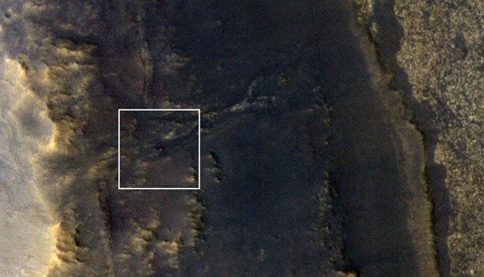 На одном из снимков из космоса удалось обнаружить марсоход Opportunity