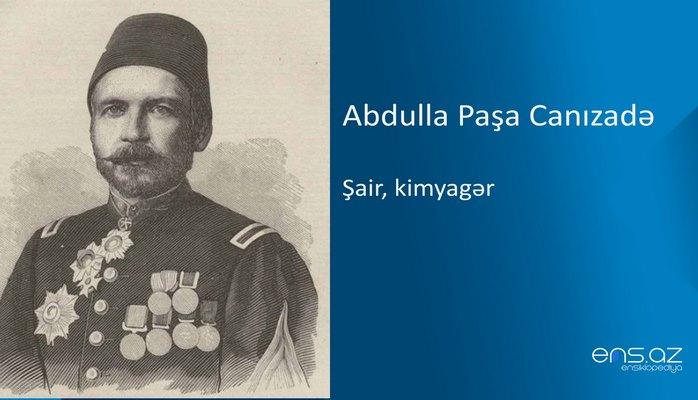 Abdulla Paşa Canızadə