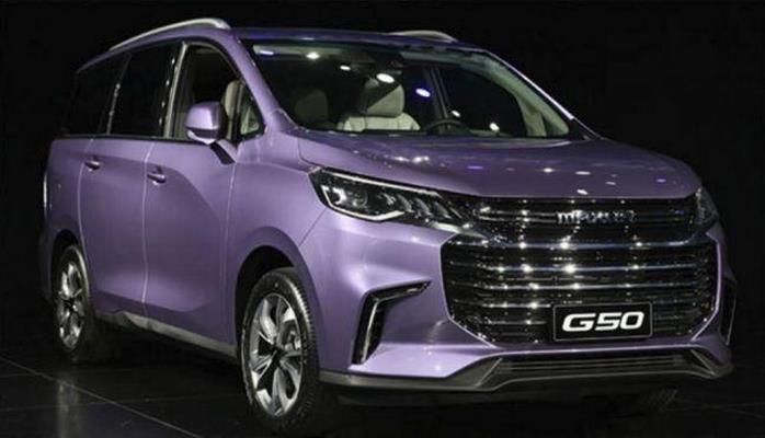 В Китае представили новый минивэн Maxus G50