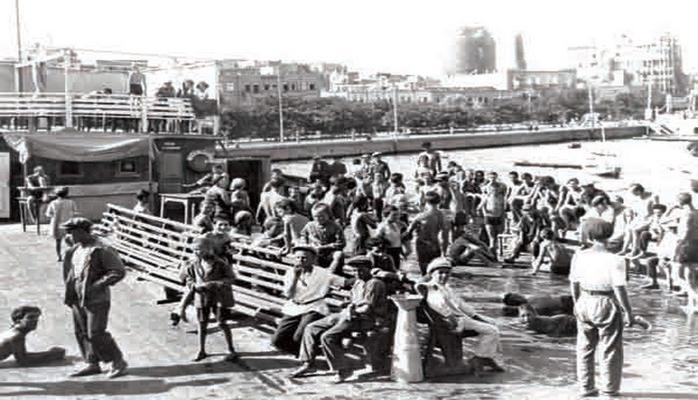 Диковинка 1914 года: Бакинские купальни