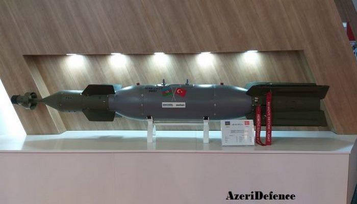 Azərbaycanın lazer yönləndirməli aviasiya bombası hazırdır
