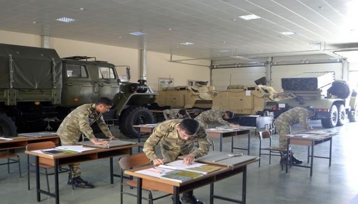 В Азербайджанском высшем военном училище проводятся госэкзамены