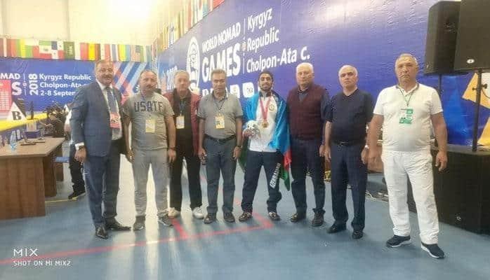 Aзербайджанский спортсмен завоевал золотую медаль на III Всемирных играх кочевников