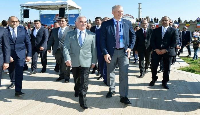 В Нахчыване состоялось открытие «Европейского городка»
