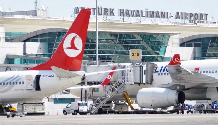 Bu ilin ilk ayında İstanbul aeroportlarından 8 milyona yaxın sərnişin istifadə edib