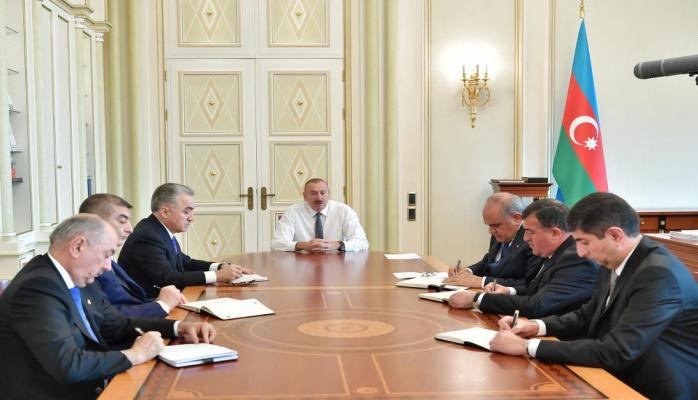 Президент Ильхам Алиев: Антинациональная трусливая группа людей, пытающаяся препятствовать нашей работе, никогда не сможет помешать нам
