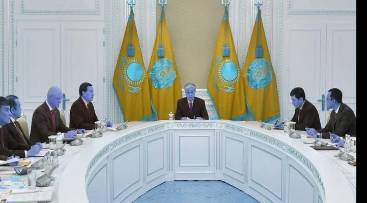 Kazakistan Cumhurbaşkanı Tokayev`den Orta Doğu toplantısı