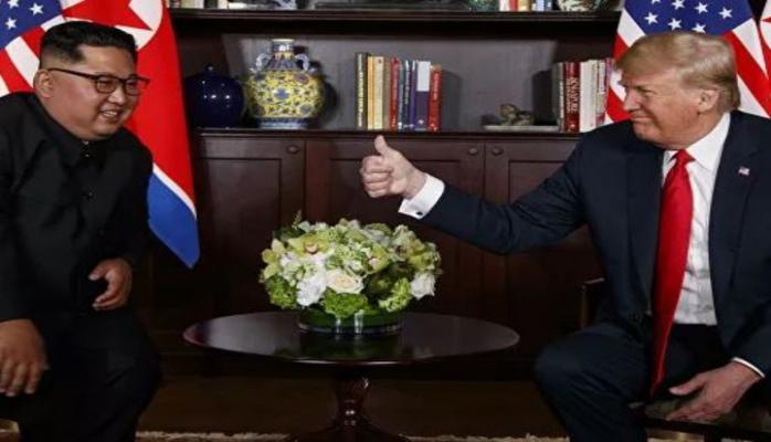 Трамп пообещал Ким Чен Ыну о скорой встрече