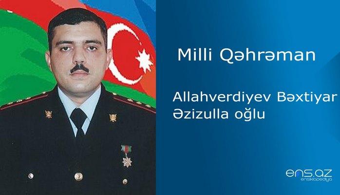 Bəxtiyar Allahverdiyev Əzizulla oğlu