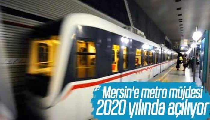 Mersin metroya kavuşuyor