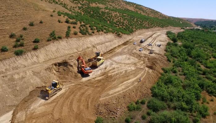 Şabranda 25 km-lik avtomobil yolu yenidən qurulur