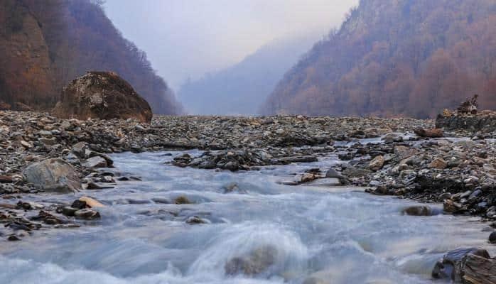 В пункте Новрузлу реки Араз отмечено понижение уровня воды на 12 см
