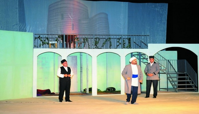 Naxçıvan Dövlət Musiqili Dram Teatrı 136-cı teatr mövsümünü açıb