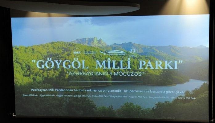 В Бакинском конгресс-центре состоялся показ документального фильма «Гейгельский национальный парк»