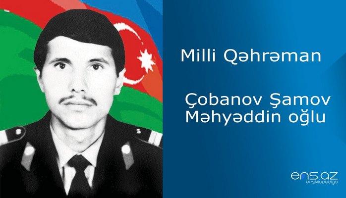 Şamov Çobanov Məhyəddin oğlu