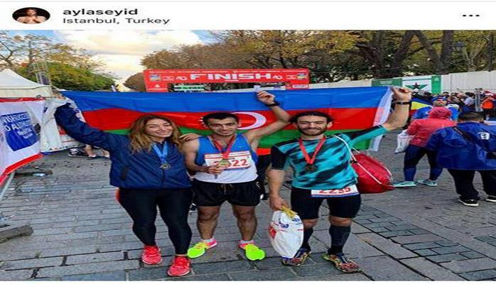 Azərbaycanlı marafonçu Asiyadan Avropaya qaçaraq rekorda imza atıb