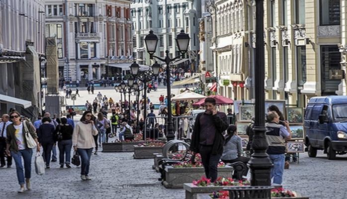 Самые дорогие улицы Москвы стали еще дороже