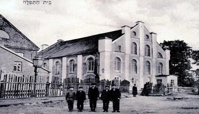 Бакинская синагога… которой в Баку не было