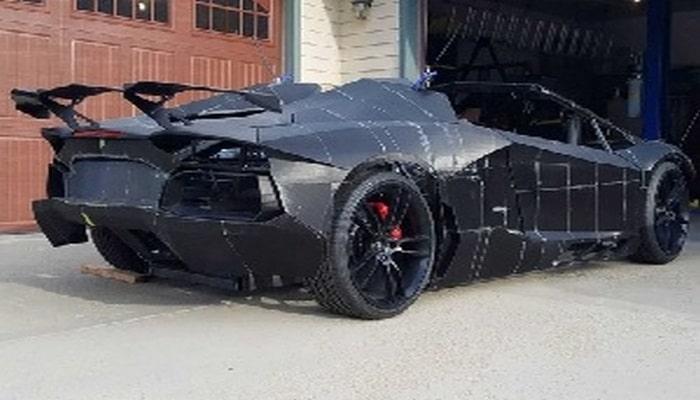 """3D"" printerlə ""Lamborghini Aventador"" avtomobili çap edilib"