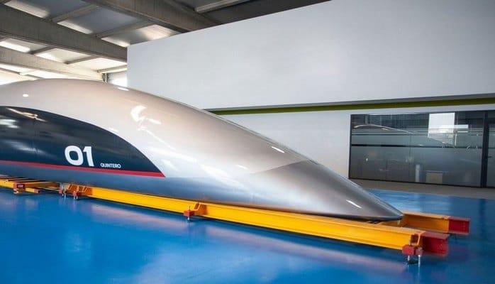 HyperloopTT презентовала свою первую пассажирскую капсулу