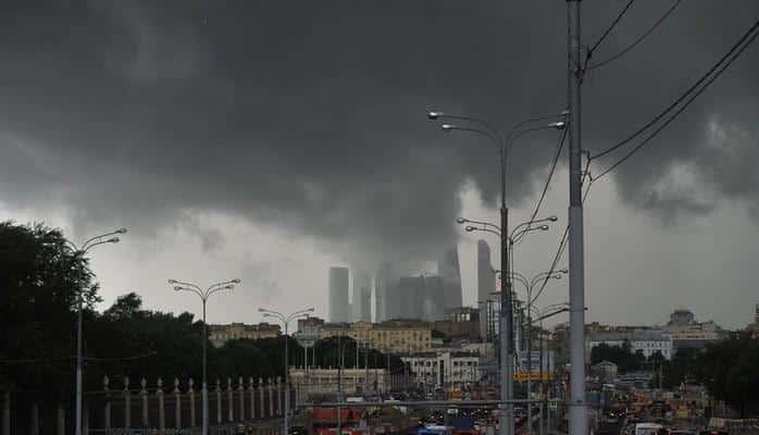 В Москве объявлено экстренное предупреждение из-за непогоды