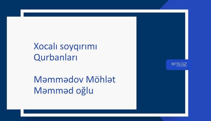 Məmmədov Möhlət Məmməd oğlu