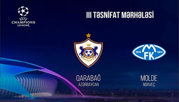 """Лига чемпионов: """"Карабах""""против """"Мольде"""""""