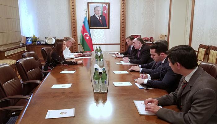 Elmar Məmmədyarov Parlamentlərarası İttifaqın prezidenti ilə görüşüb