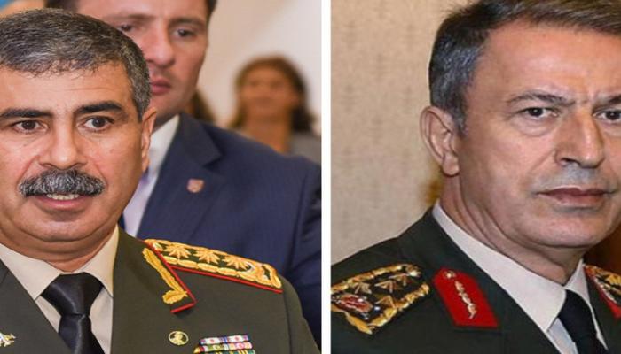 Закир Гасанов выразил соболезнования министру Национальной обороны Турции