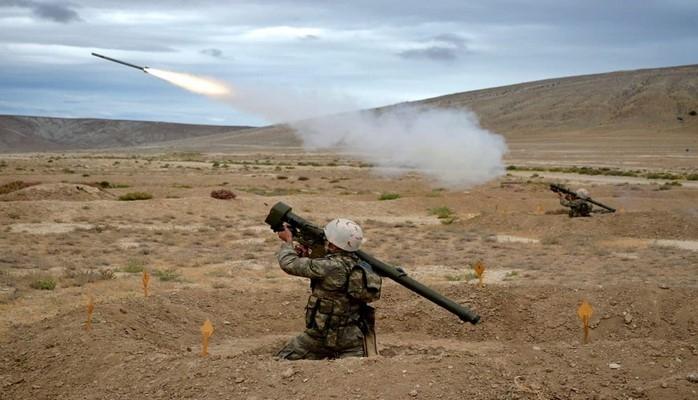 Проведены учебные тренировки подразделений противовоздушной обороны