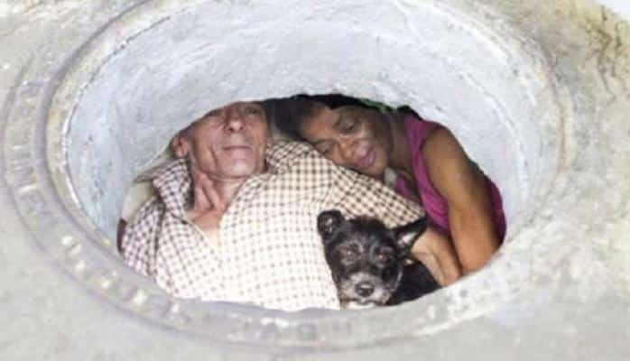 Onlar 22 ildir ki, kanalizasiyada yaşayırlar