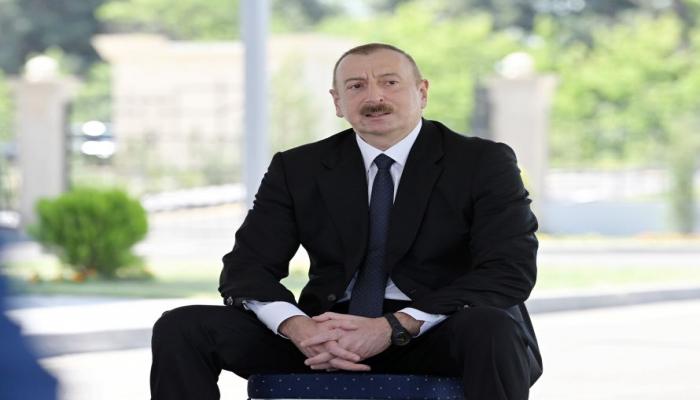 """Президент Ильхам Алиев о """"выборах"""" в оккупированном Карабахе: Это своего рода шоу, клоунада"""