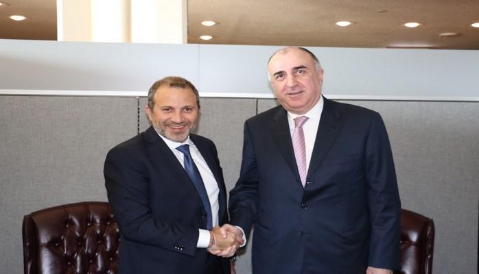 Эльмар Мамедъяров встретился в Нью-Йорке с главами МИД трех стран