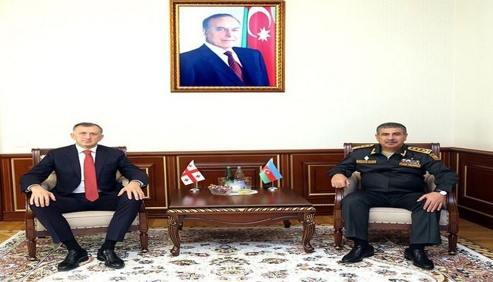 Закир Гасанов встретился с послом Грузии в Азербайджане