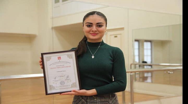 Азербайджанская балерина удостоена Гран-при международного конкурса