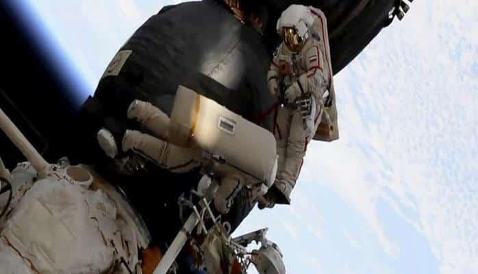 Kosmosda tarixdə ilk dəfə belə bir əməliyyat həyata keçirldi