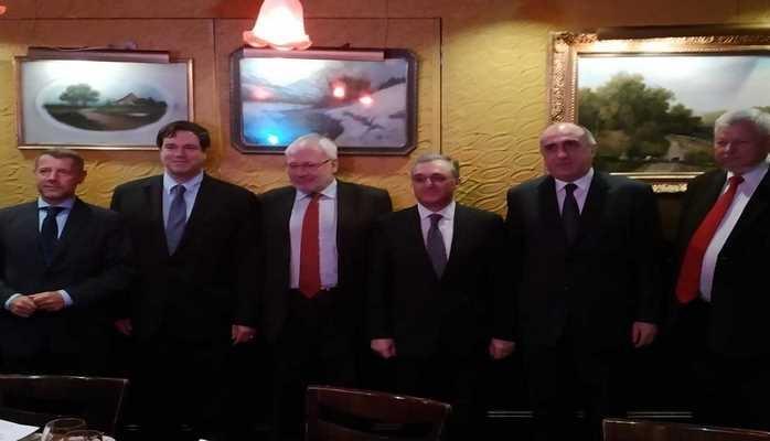Сопредседатели Минской группы ОБСЕ выступили с заявлением по итогам встреч с главами МИД Азербайджана и Армении