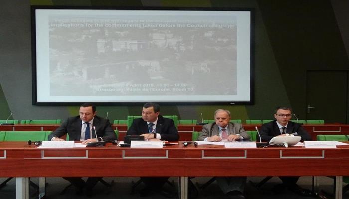 В Страсбурге обсудили ситуацию на оккупированных территориях Азербайджана