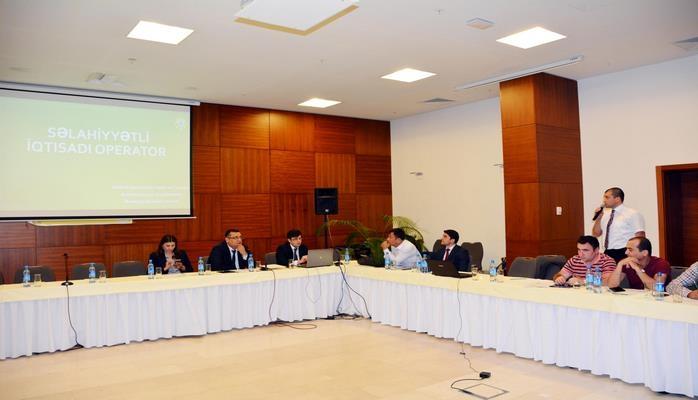 Госкомтаможни Азербайджана проводит тренинг для представителей СМИ