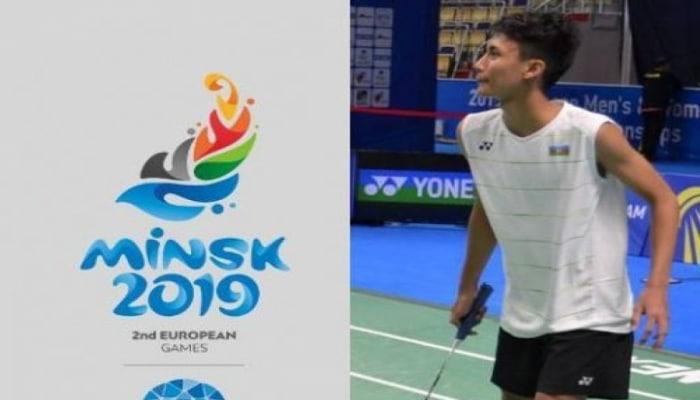 """Azərbaycan badmintonçusu """"Minsk 2019""""da ikinci oyunda da qalib gələrək qrupda liderliyə yüksəlib"""