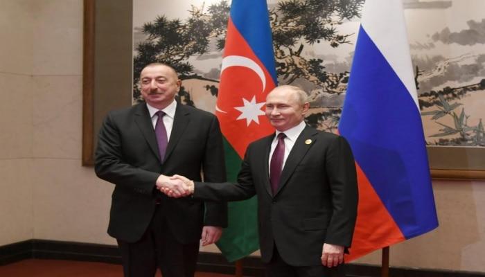 В Пекине состоялась встреча президентов Азербайджана и России