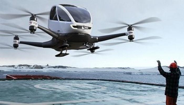 В Магасе в 2020 году запустят беспилотное летающее такси