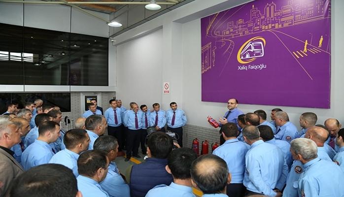"""""""Xaliq Faiqoğlu"""" MMC sürücülərin peşəkarlığının artırmaq üçün təlim keçirib"""