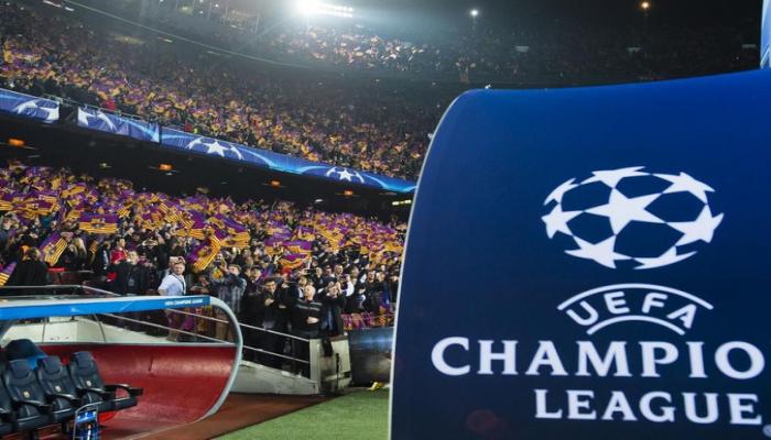 Определилось время матчей 1/4 финала Лиги чемпионов