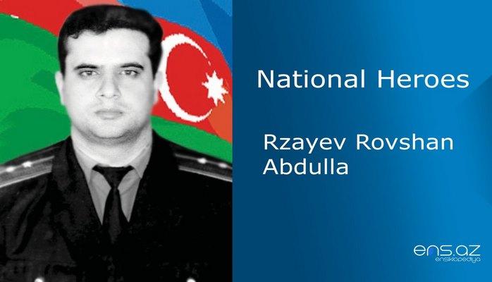 Rzayev Rovshan Abdulla