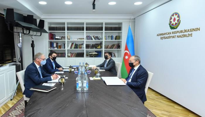 Обсуждено экономическое сотрудничество Азербайджана и Германии