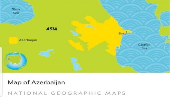 """""""National Geographic""""in Azərbaycanla bağlı səhvi aradan qaldırıldı"""