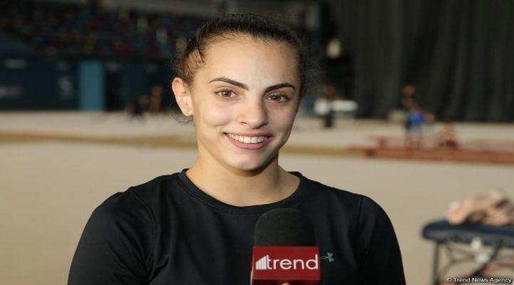 В Национальной арене гимнастики в Баку я чувствую себя как дома – израильская спортсменка Линой Ашрам