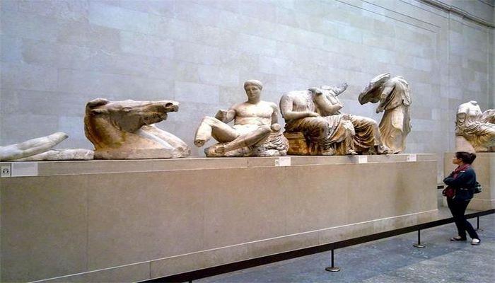 Греция требует у Англии возвращения скульптур Парфенона
